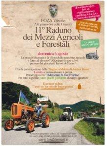 11° Raduno dei Mezzi Agricoli e Forestali @ Centro paese