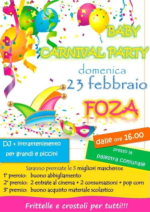 Carnevale a Foza